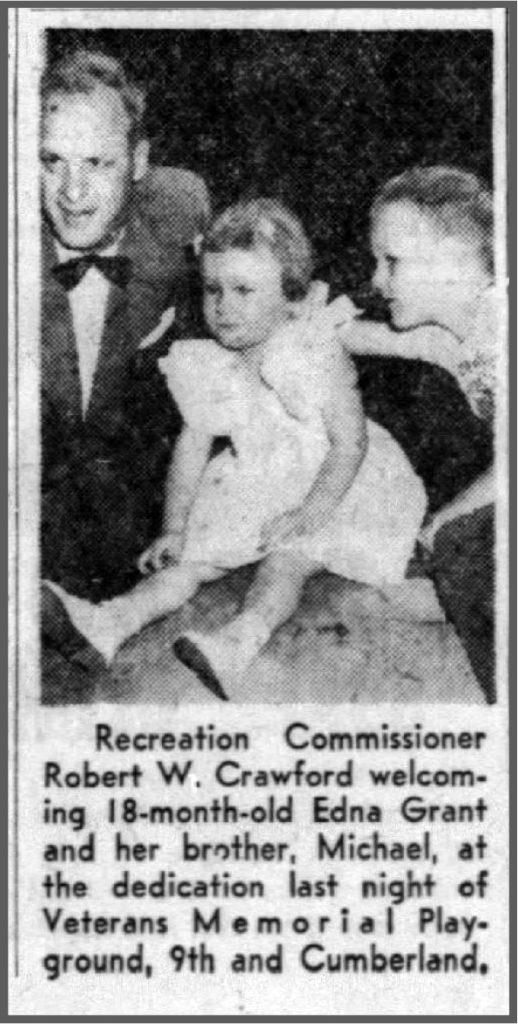 1956: Playground Opens