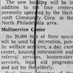 1970: Hartranft Unit Gets Grant for New Building