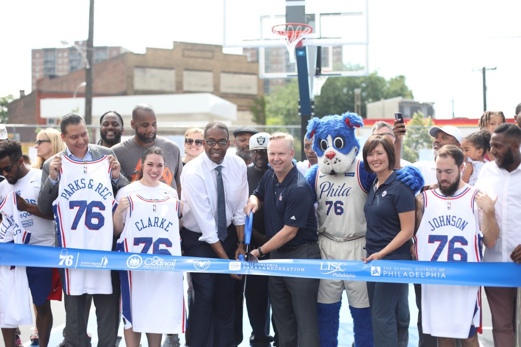 2018: Hartranft Basketball Courts Renovated